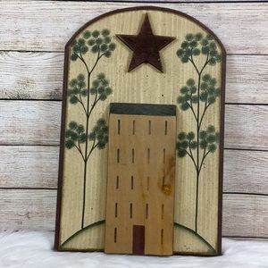 Saltbox House Primitive Wooden Wall Decor